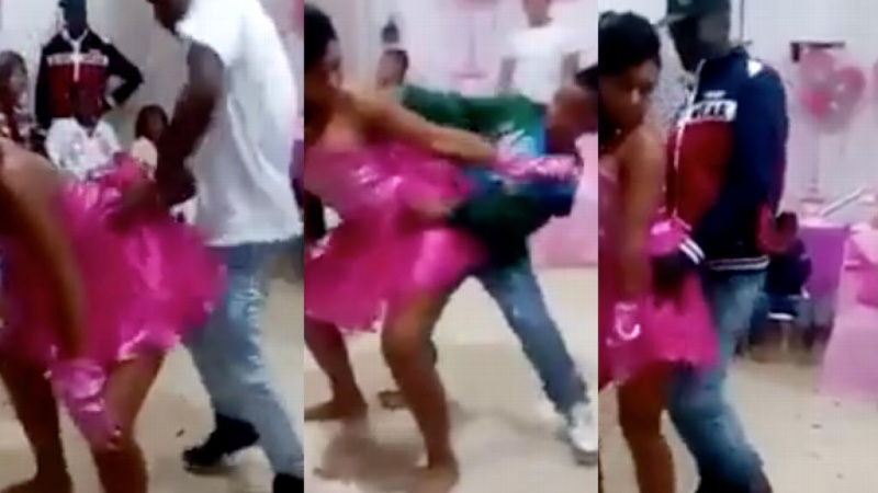 Perreo atrevido woman with