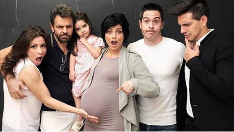 ¡Qué pesado! Eugenio Derbez bromea con la apariencia de la hija de Aislinn #FOTO
