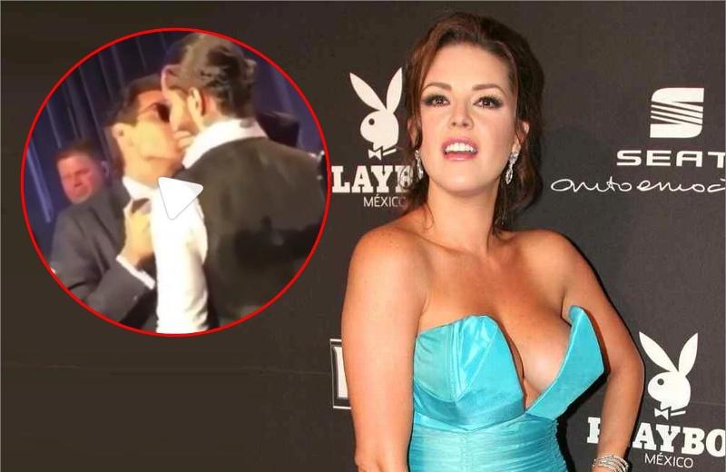 """""""Nos estamos quedando sin hombres"""": Alicia Machado sobre el beso entre Maluma y Marc Anthony #FOTO"""