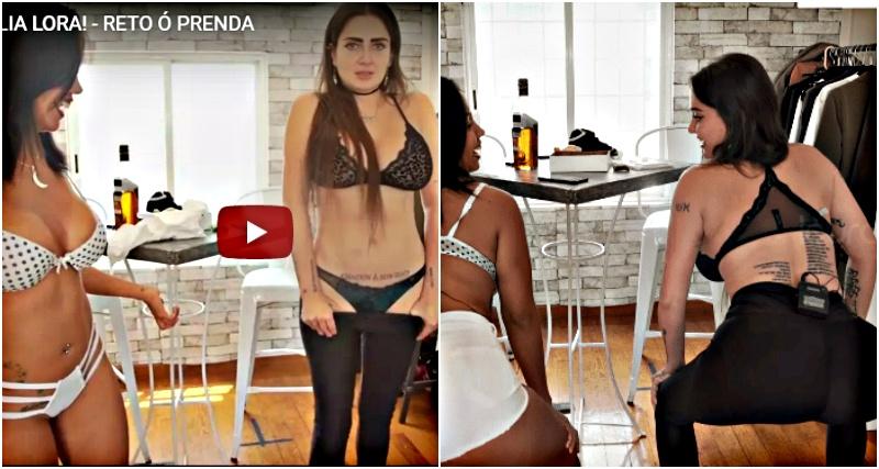 El ardiente video entre Celia Lora y Mujer Luna Bella que te pondrá sudar #VIDEO