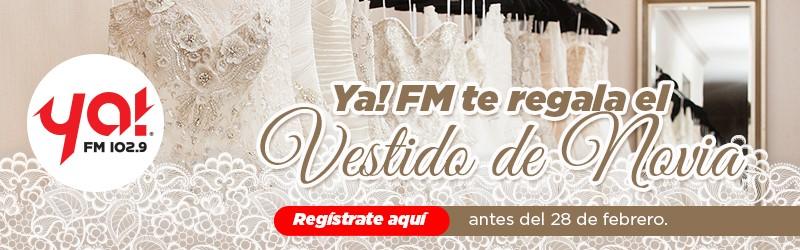 ¡Participa para ganar un vestido de novia!