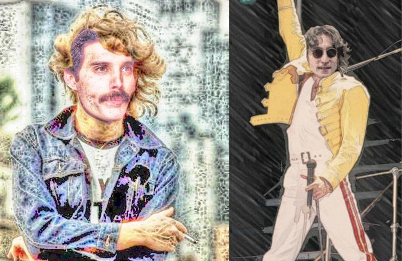 Sobre fechas y actuaciones, mínima historia de John y Freddie