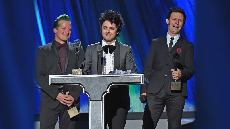 Green Day… ¡Bienvenidos al Salón de la Fama del Rock!