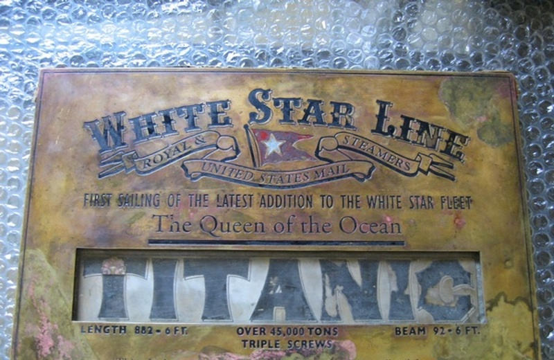 ¡OMG! Rescatan parte histórica del Titanic