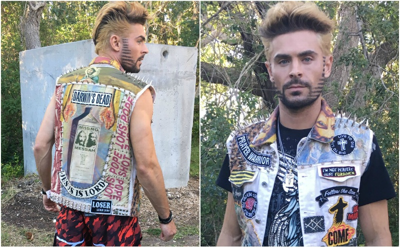 Zac Efron espanta a sus fans con su nuevo look #FOTOS