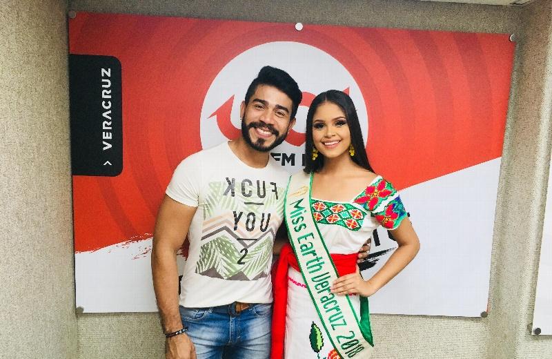 Gloria del Ángel Mar, Miss Earth Veracruz 2018 en la cabina impactante #VIDEO