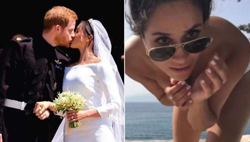 OMG!! Filtran video íntimo de Meghan Markle en topless #VIDEO