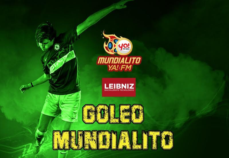 Tabla de goleadores del Mundialito de Ya! FM (03 de junio)