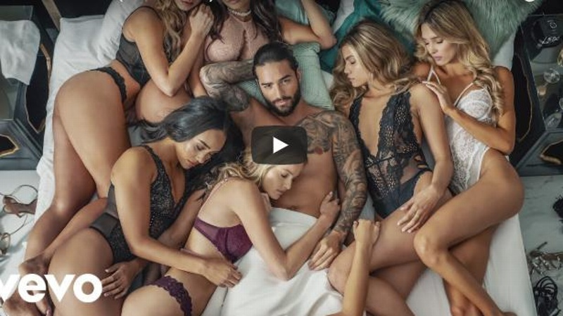 Maluma estrena ardiente video de 'Mala Mía' ¡rodeado de hermosas mujeres! #VIDEO