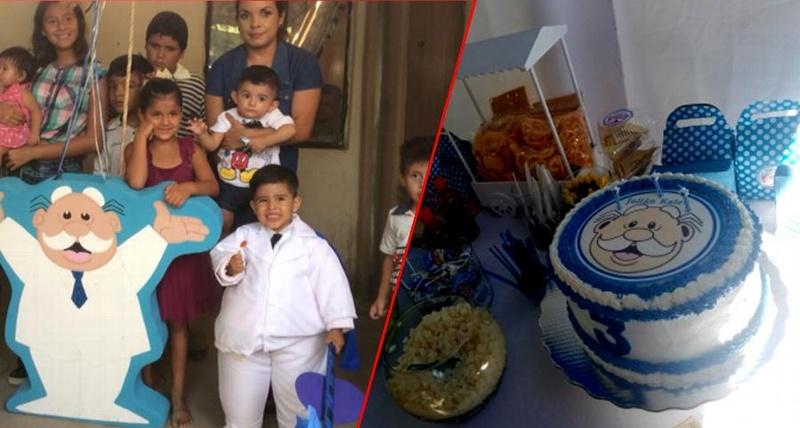 Niño se disfraza de Dr. Simi para celebrar su cumpleaños... ¡lo más tierno que verás hoy! #VIDEOS