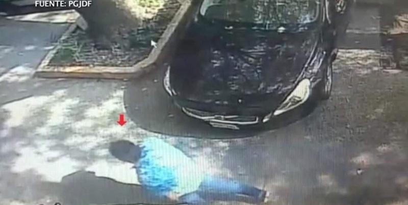 Revelan imágenes del probable asesino de Fabio Melanitto (+VIDEO)