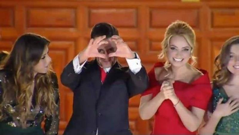 Enrique Peña Nieto revela qué seña quiso hacer durante la noche del Grito