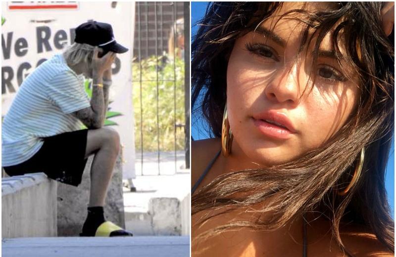 Justin Bieber totalmente desconsolado tras enterarse de la hospitalización de Selena Gomez #VIDEO
