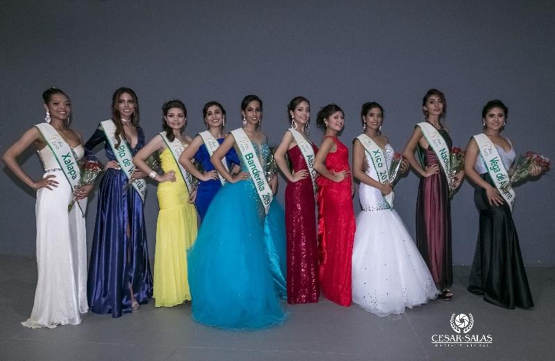 Diez ganadoras de la zona centro se suman a Miss Earth Veracruz 2019