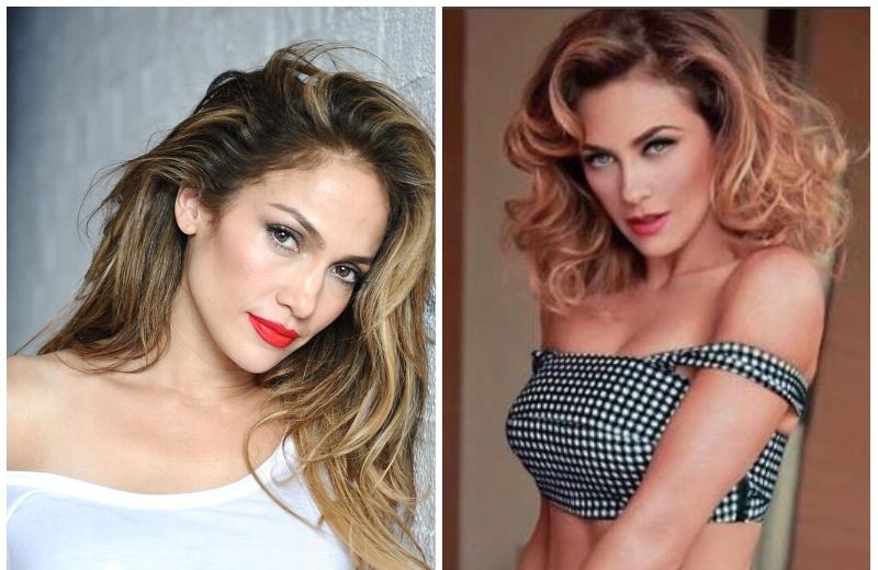 Duelo de bikinis entre Jennifer Lopez y Aracely Arámbula (+FOTOS)