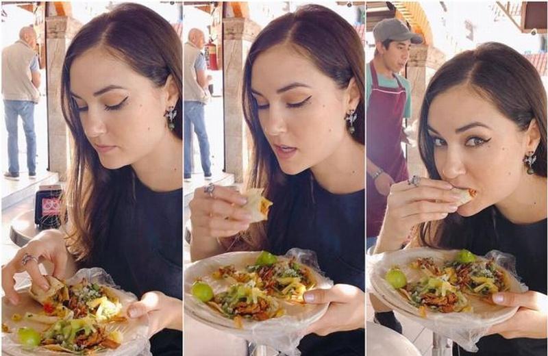 Sasha Grey visita México ¡y se enamora de los tacos al pastor!