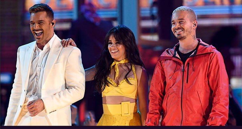 Checa la increíble entrada de Camila Cabello en los Grammy #VIDEO