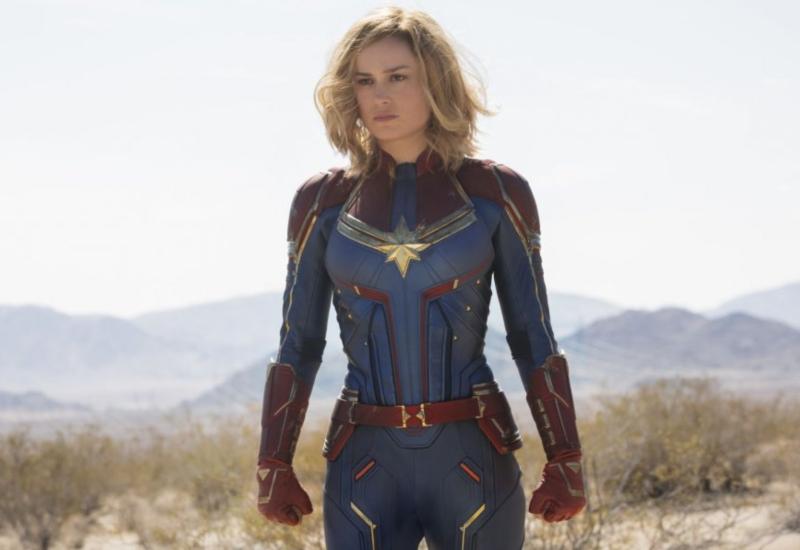 'Capitana Marvel' te lleva al internet de los 90's con su nuevo sitio web #FOTOS