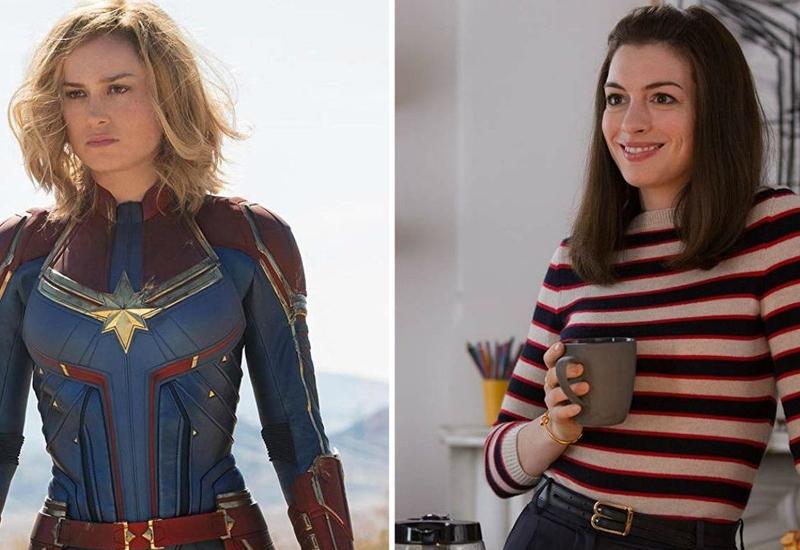 Anne Hathaway felicita a Capitana Marvel #FOTO