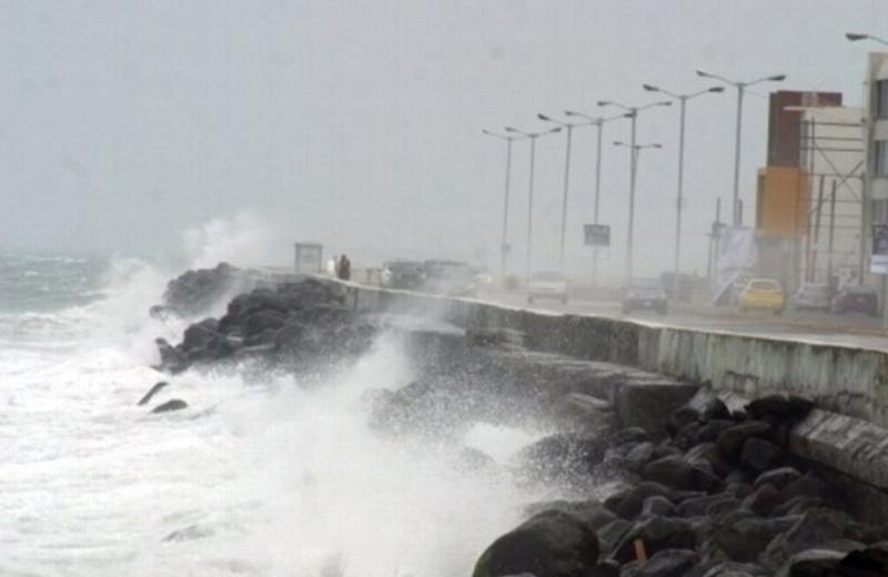 Viento del Este, brisa del mar, están proclamando que habrá norte en Veracruz