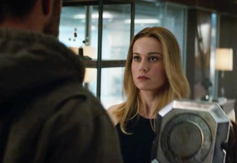 Critican la apariencia de Capitana Marvel en el tráiler de Avengers EndGame