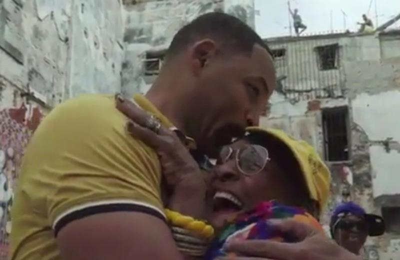 Will Smith se cuela en el rap de unas ancianitas cubanas #VIDEO