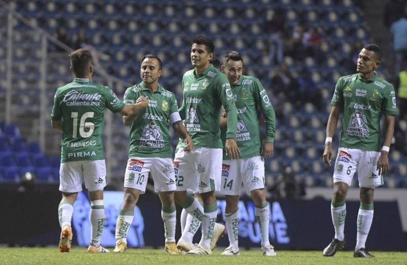 León vence al Puebla y llega a once triunfos al hilo en la Liga MX