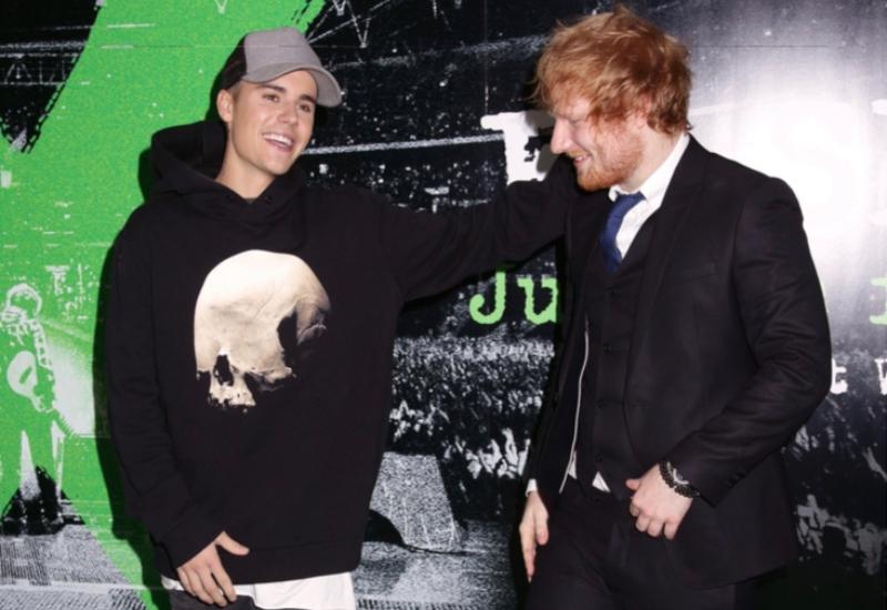 Justin Bieber revela parte de su colaboración con Ed Sheeran #VIDEO