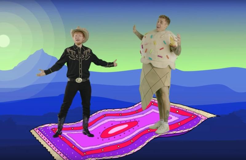 Estrenan Ed Sheeran y Justin Bieber el video de 'I Don't Care' #VIDEO