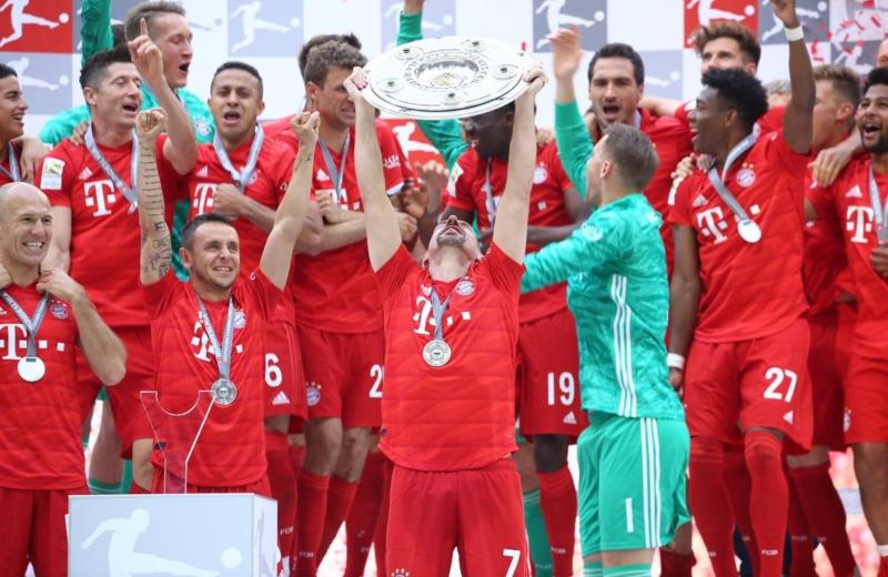 ¡Bayern Munich golea a Frankfurt y obtiene séptimo título consecutivo!