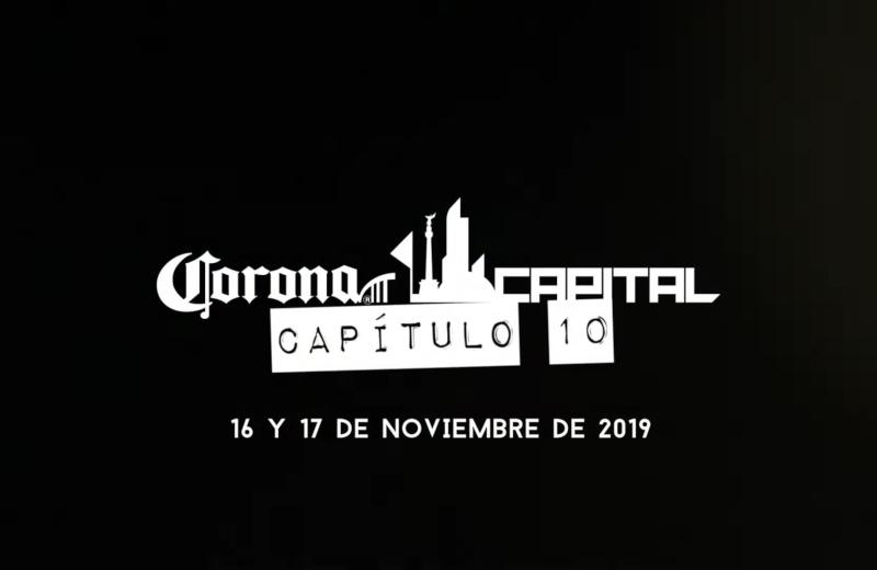 ¡Por fin! Lanzan cartel del Corona Capital 2019 #FOTO