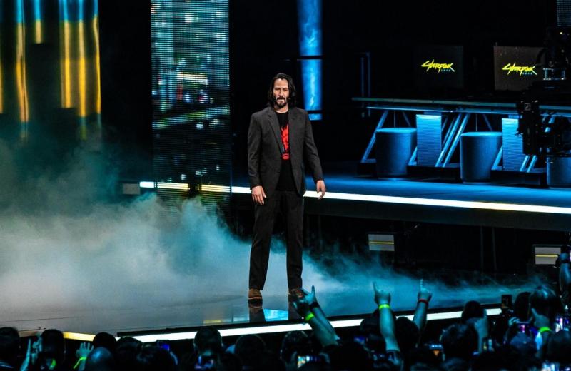 Keanu Reeves llega al #E3 a convertirse en ¡PARTE DE UN VIDEOJUEGO! #VIDEO
