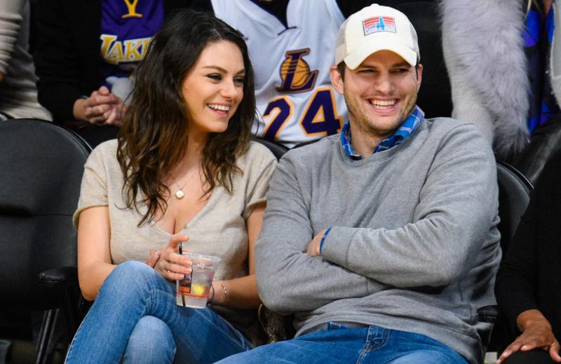 Ashton Kutcher y Mila Kunis se burlan de su supuesta ruptura en #VIDEO