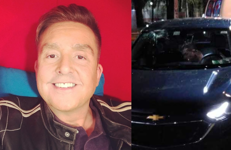 Daniel Bisogno sufre terrible accidente automovilístico #FOTO