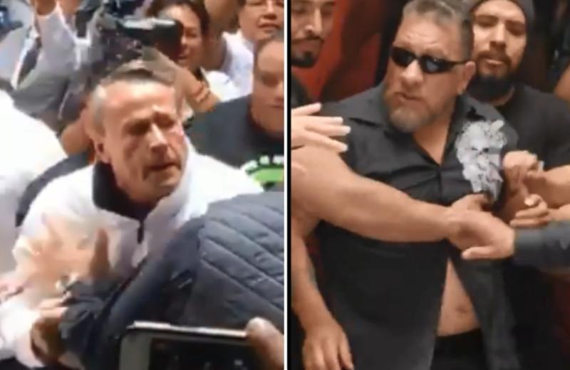 Carlos Trejo 'calienta la pelea' con Alfredo Adame #VIDEO