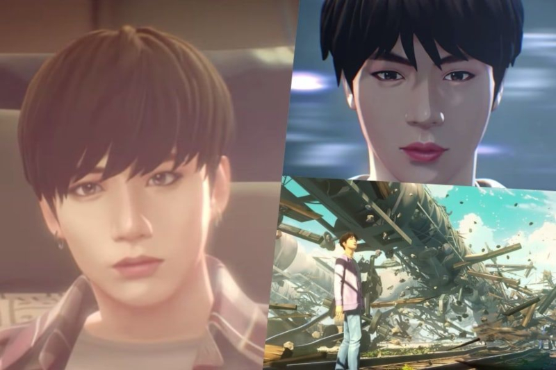 #BTS muestra el primer teaser de su nuevo juego