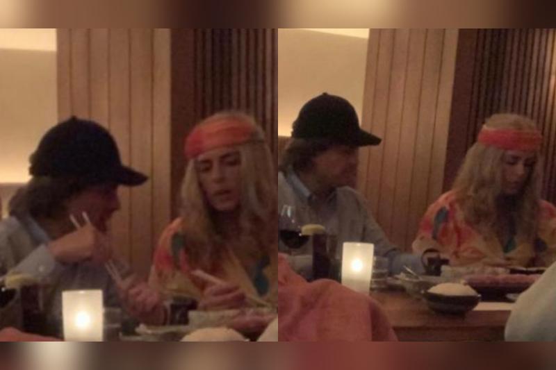 EPN y Tania Ruiz se disfrazan de hippies para cenar #FOTO
