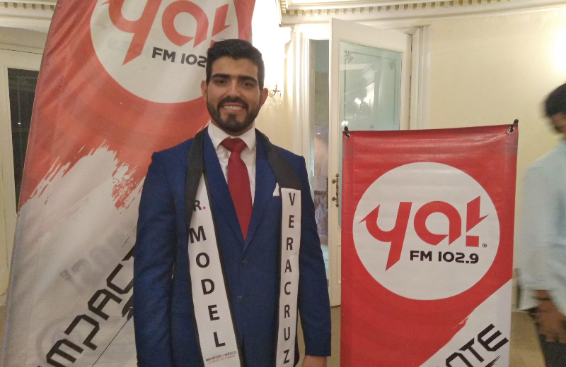 Juan Manuel Canales es Mister Model Veracruz 2019