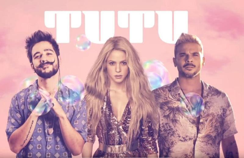Camilo y Pedro Capó estrenan remix de ´Tutu´ con Shakira #VIDEO