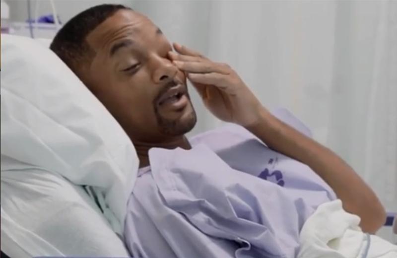 Detectan pólipo precanceroso a Will Smith en plena transmisión #VIDEO