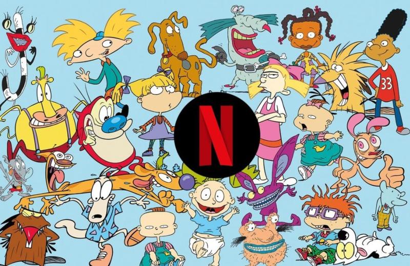 Netflix y Nickelodeon se unen para crear nuevas series y películas