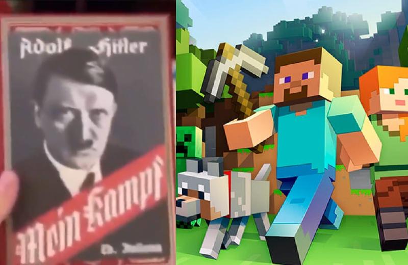 Quería un Minecraft y le regalan el 'Mein Kampf' de Hitler #VIDEO