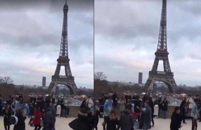Mexicanos conquistan Paris al ritmo de 'La chona' #VIDEO