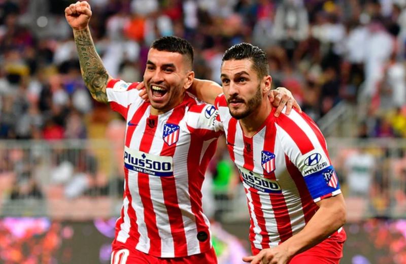 Atlético de Madrid vence al Barça y se va a la final de la Supercopa