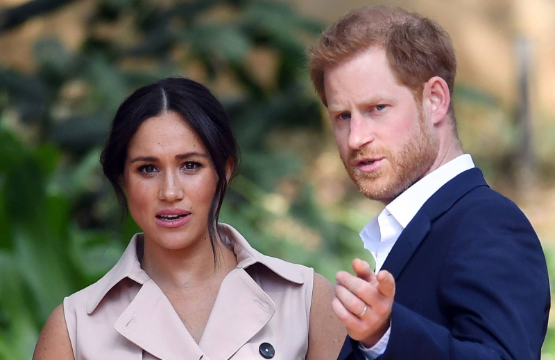 Meghan Markle y el príncipe Harry ya no son de la realeza