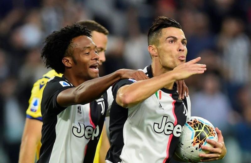 Juventus visita al Hellas Verona para mantenerse en la cima