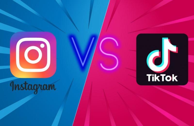 Tik Tok le hace competencia a Instagram...¿copiándole?