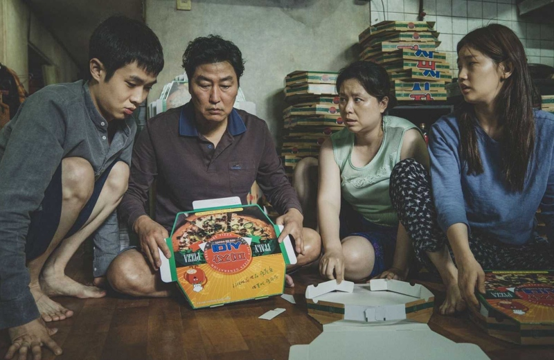 Parasite se lleva el #Oscar a Mejor Película