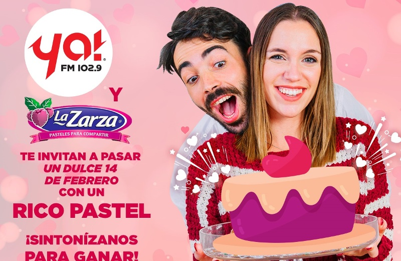 Gana un pastel del amor de pastelería La Zarza #Dinámica