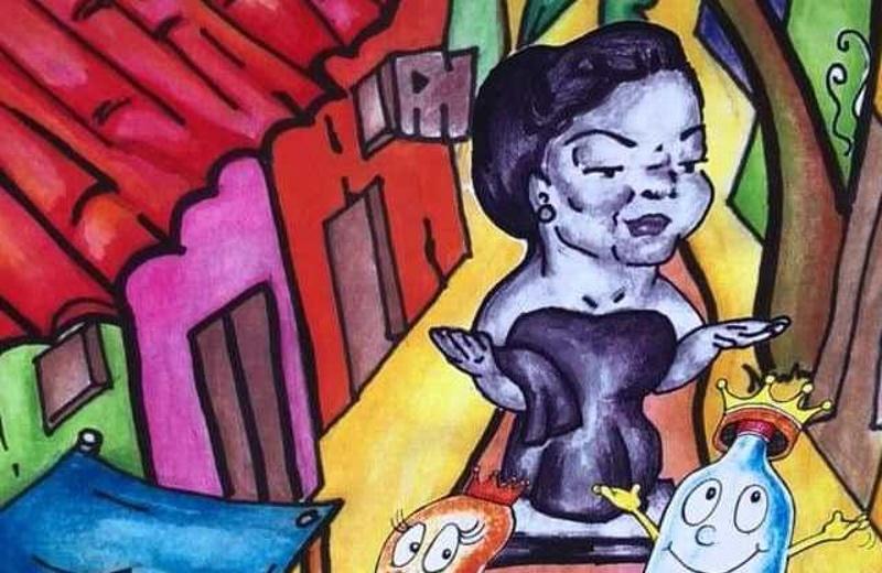 Dan a conocer el cómic de la Gorda y la Picada en Veracruz